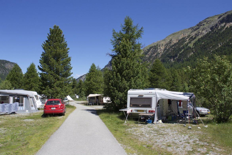 Camping à la montagne